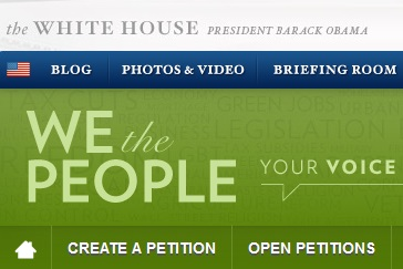 We the people  petition
