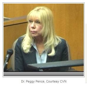 Dr. Peggy Pence, from Linda Gross trial