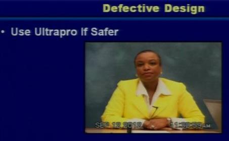 Dr. Charlotte Owens, signed off on Prolift