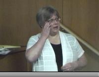 Linda Gross testifies
