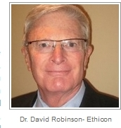 David Robinson, former Medical Dir. Ethicon