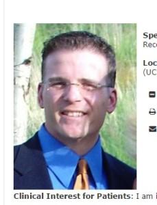 Dr. Brian Flynn, U of Colorado urologist