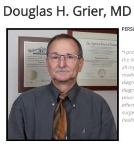 Dr. Douglas Grier