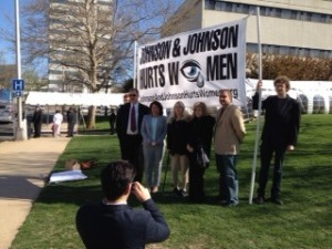 J&J awareness, April 2014, Courtesy: Corporation Action Network