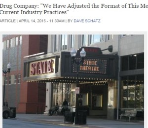 State Theatre, New Brunswick, NJ, Locations of this year's shareholder's meeting.