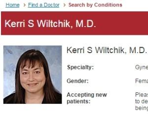 Dr. Kerri Wiltchik, Ob-Gyn implanting doc