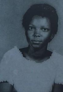 A young Linda Batiste