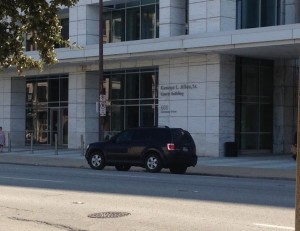 Dallas courtroom, 95th District, Texas
