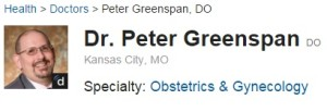 dr peter greenspan