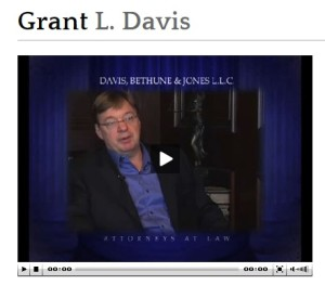 grant davis for plaintiff