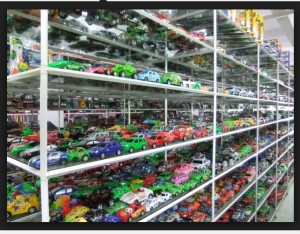 Plastic toys made in Guangdong province
