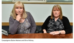 elaine holmes and olive mcllroy