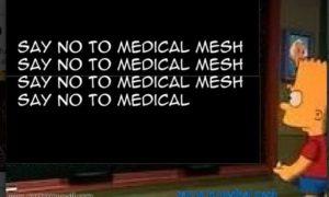 say n o to mesh