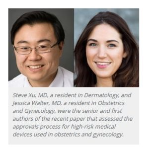Northwestern Researchers Steve Xu MD and Jessica Walters MD