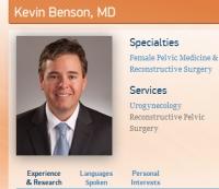 Dr. Kevin Benson, Courtesy CVN