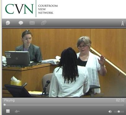Linda Gross sworn in Day 14 trial