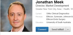 Jonathan Meek, from LinkedIn