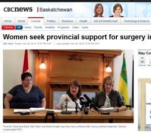 cherie s cbc news on skatchewan women want change 300