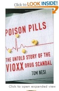 Poisoned Pills book cover, Tom Nesi