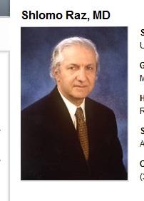 Dr. Shlomo  Raz UCLA