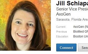 Jill. Schiaparelli, former Ethicon
