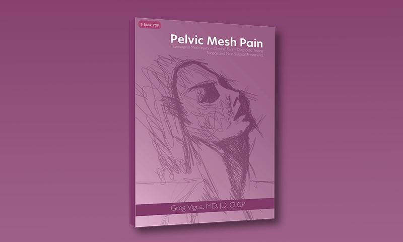 Pelvic Mesh Pain book cover