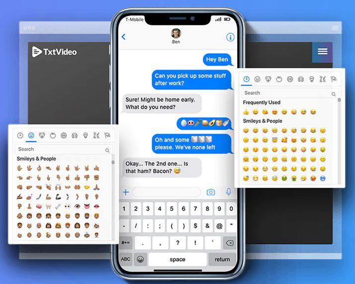 TxtVideo-2-Feature-5-emoji