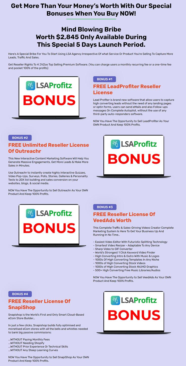 LSA Agency Bonus