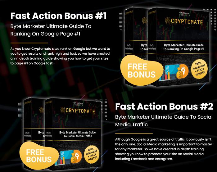 Cryptomate Bonus