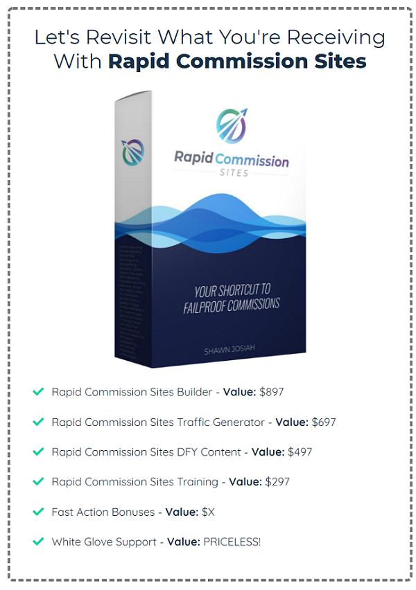 Rapid Commission Sites Price