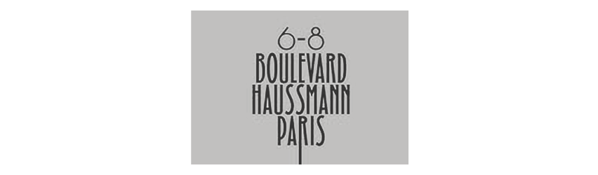 Logo 6-8 Haussman Paris