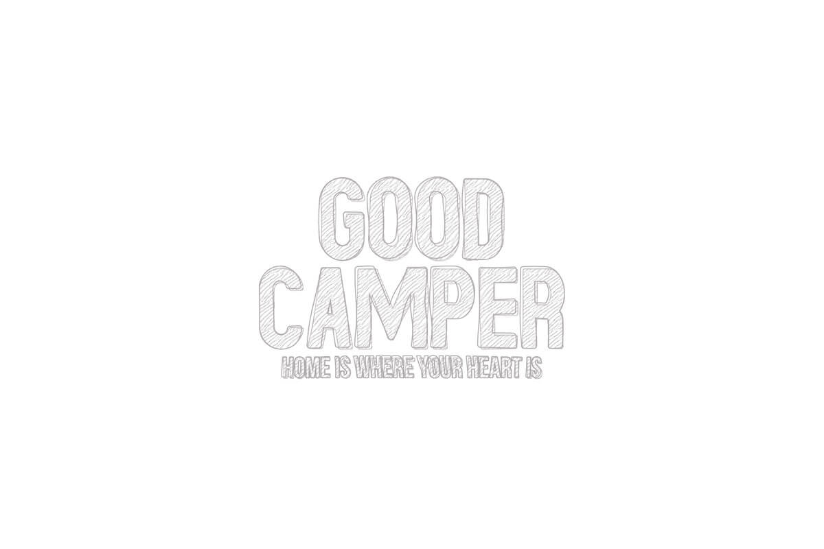 Goodcamper logo Raw Illustration