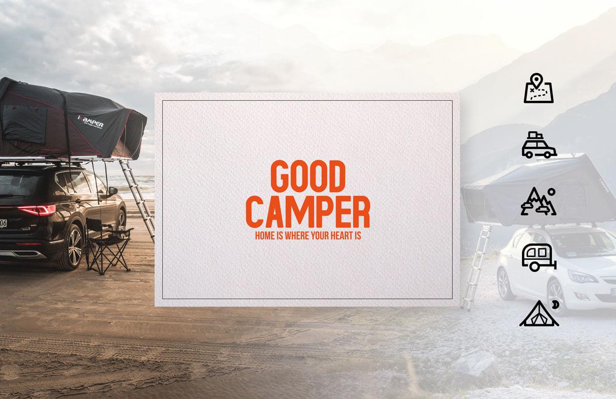 Goodcamper Logo und Icons