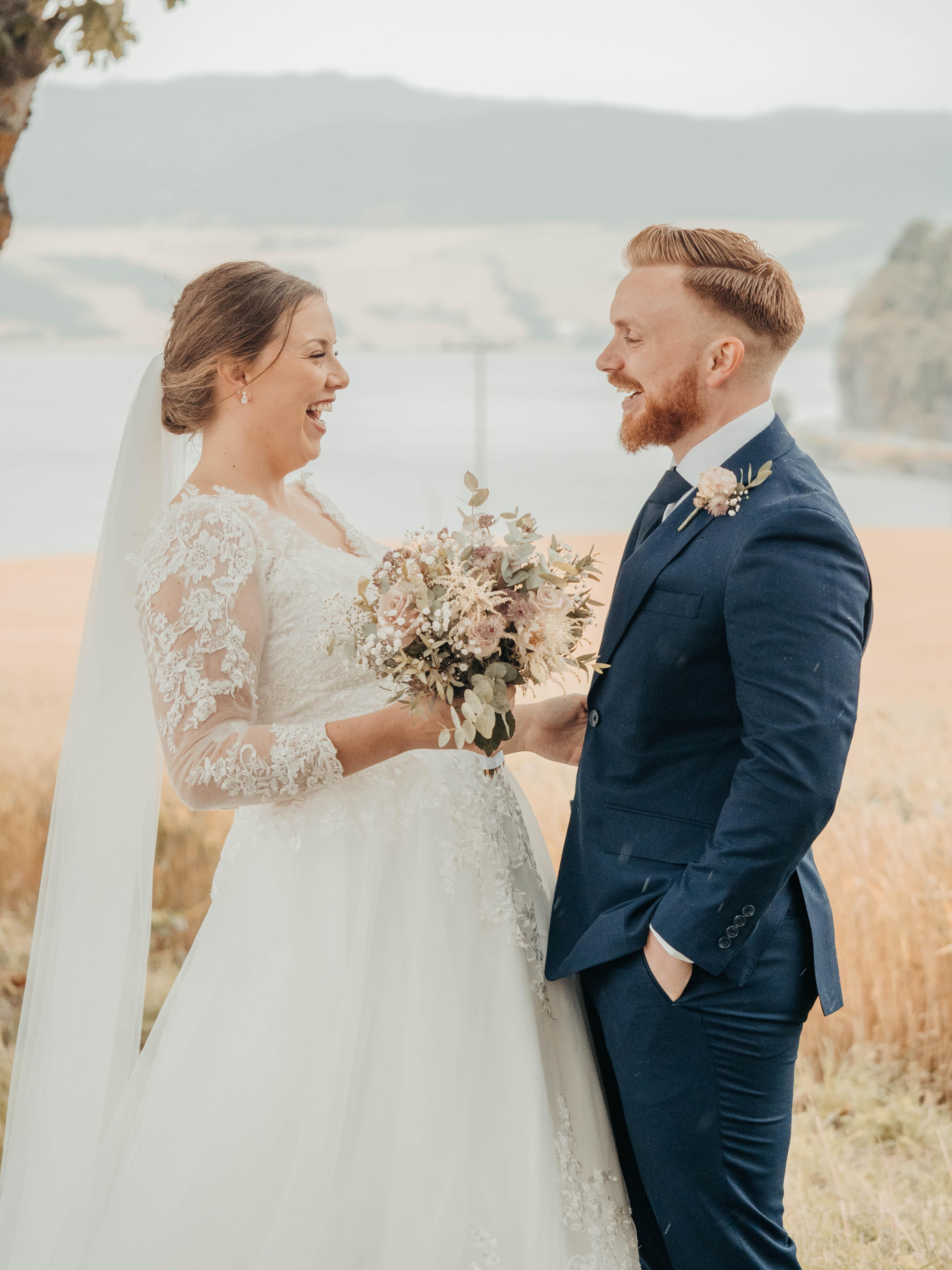 Image of married couple wedding