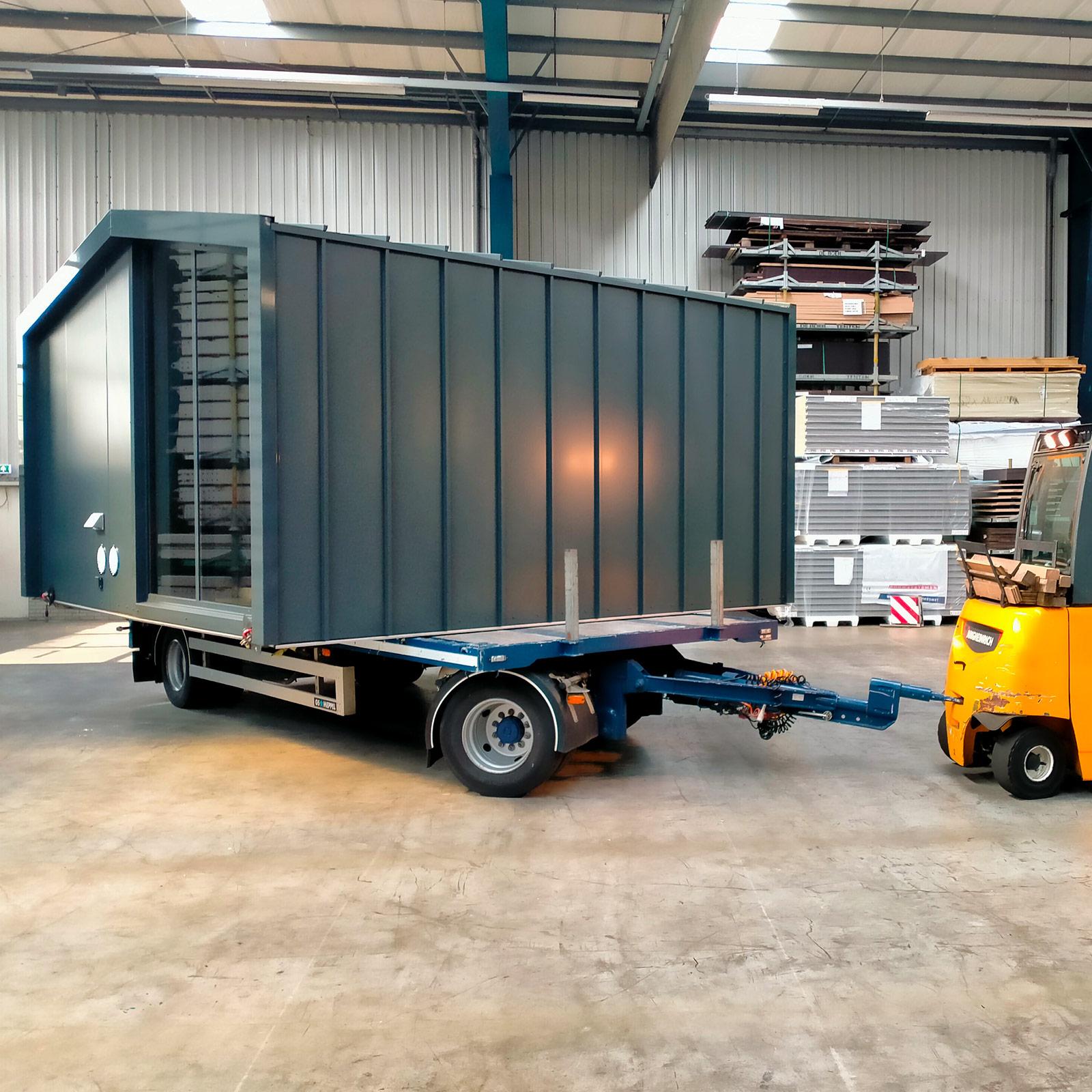 ZaaK® ZDLGL4 in de productiehal, klaargemaakt voor transport.