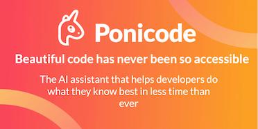 Beautiful code thanks to Ponicode