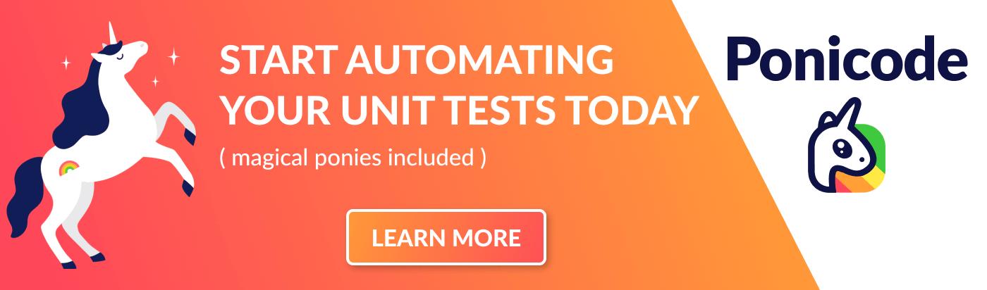 Ponicode Unit Test - Get started