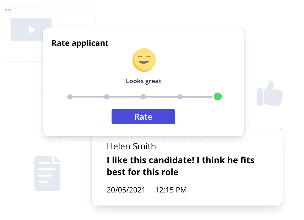 Rate applicant