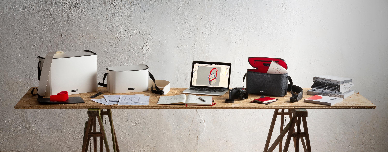 sac photo bandoulière contraste paris cuir noir étanche voyage photographe compact messenger leica ordinateur femme randonnée prototype