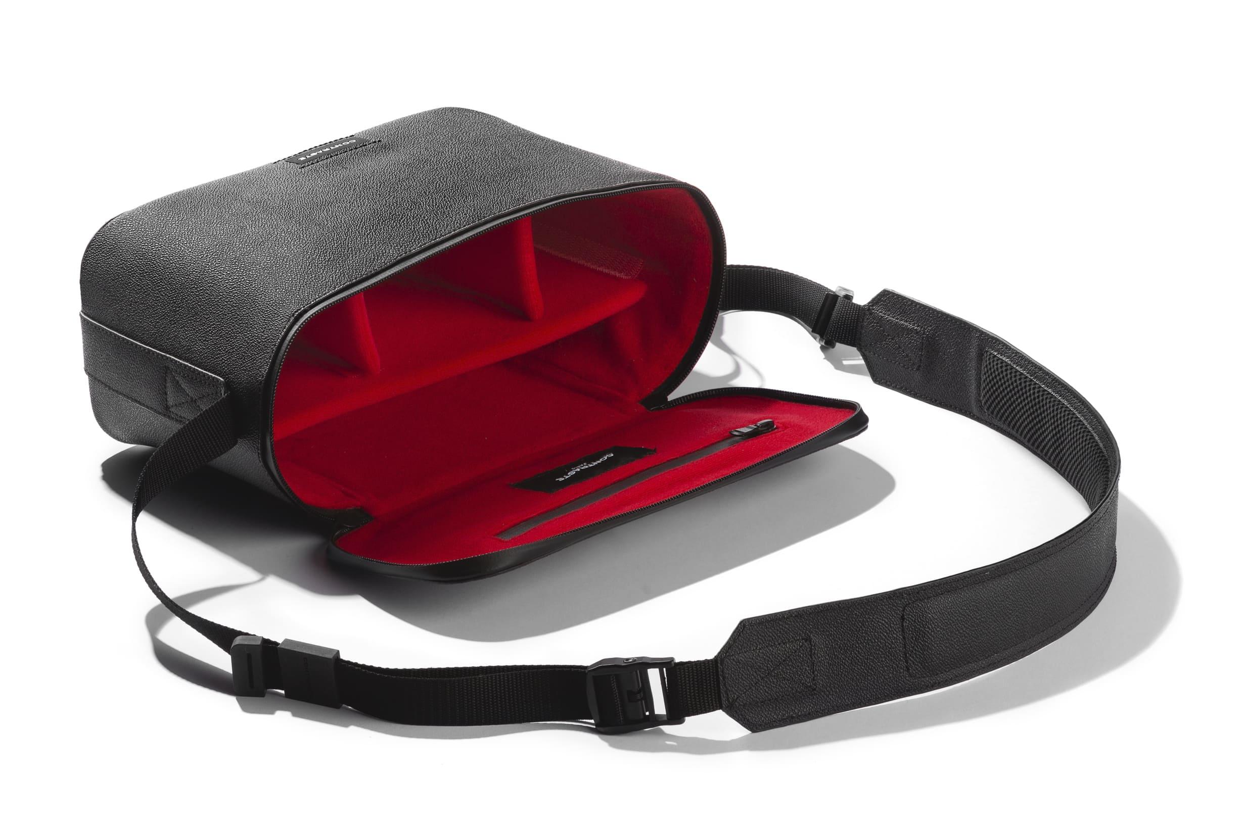 Paris Contrast Shoulder Camera Bag Black Leather Waterproof Travel Photographer Compact Messenger Leica Computer Woman Hiking Compact