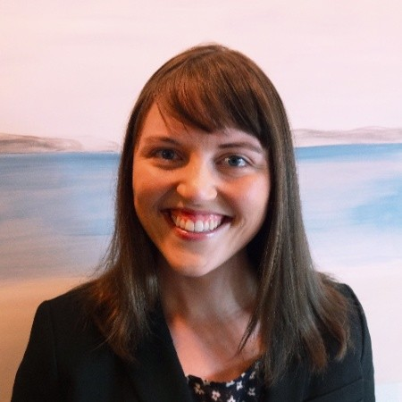 Photo of Cassy McKee, Executive Director of Reading Partners Seattle