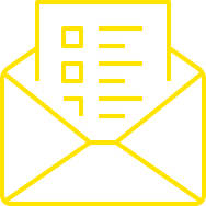 Design Print & Mailing Services Yellow
