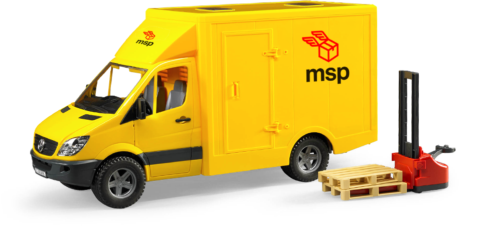 Marketing Support People Delivery Van