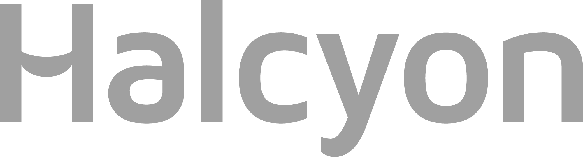 Halcyon Logo Grey
