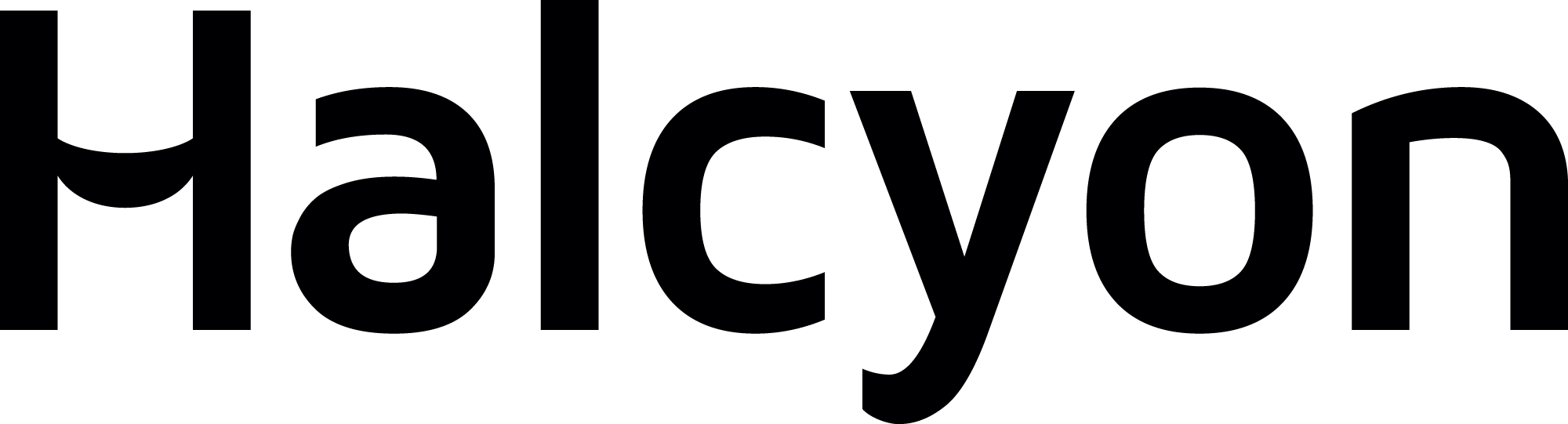 Halcyon Logo Black