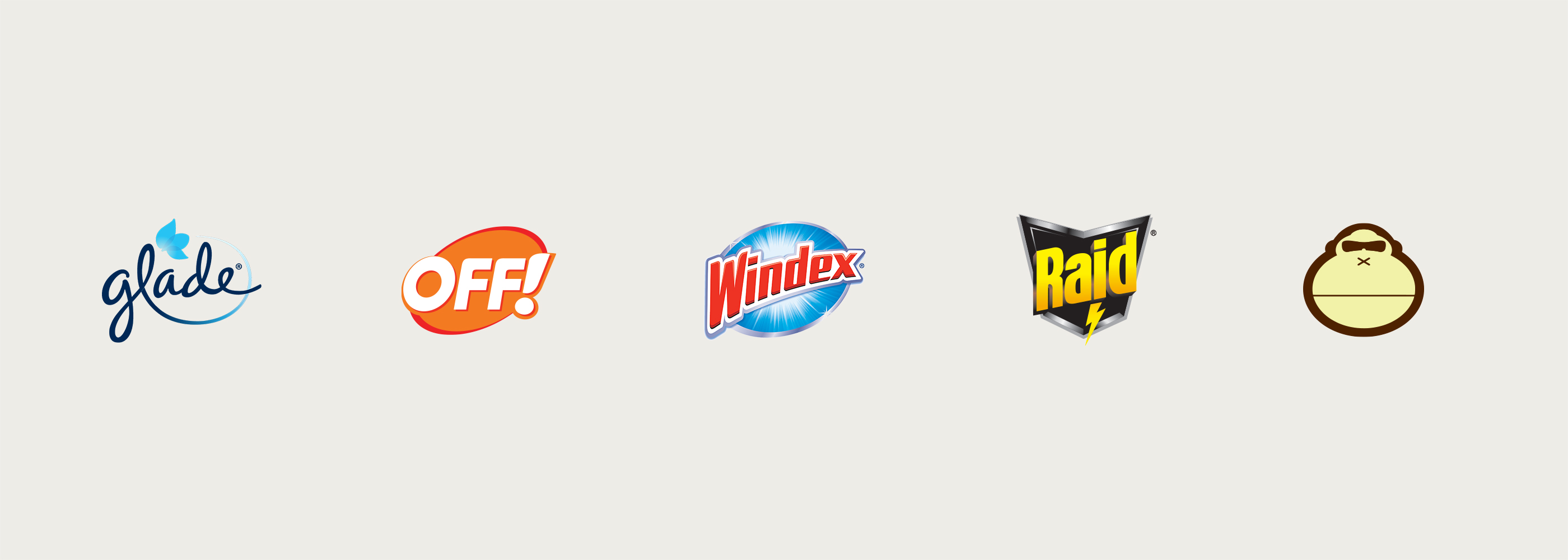 Product brand logos from SC Johnson.