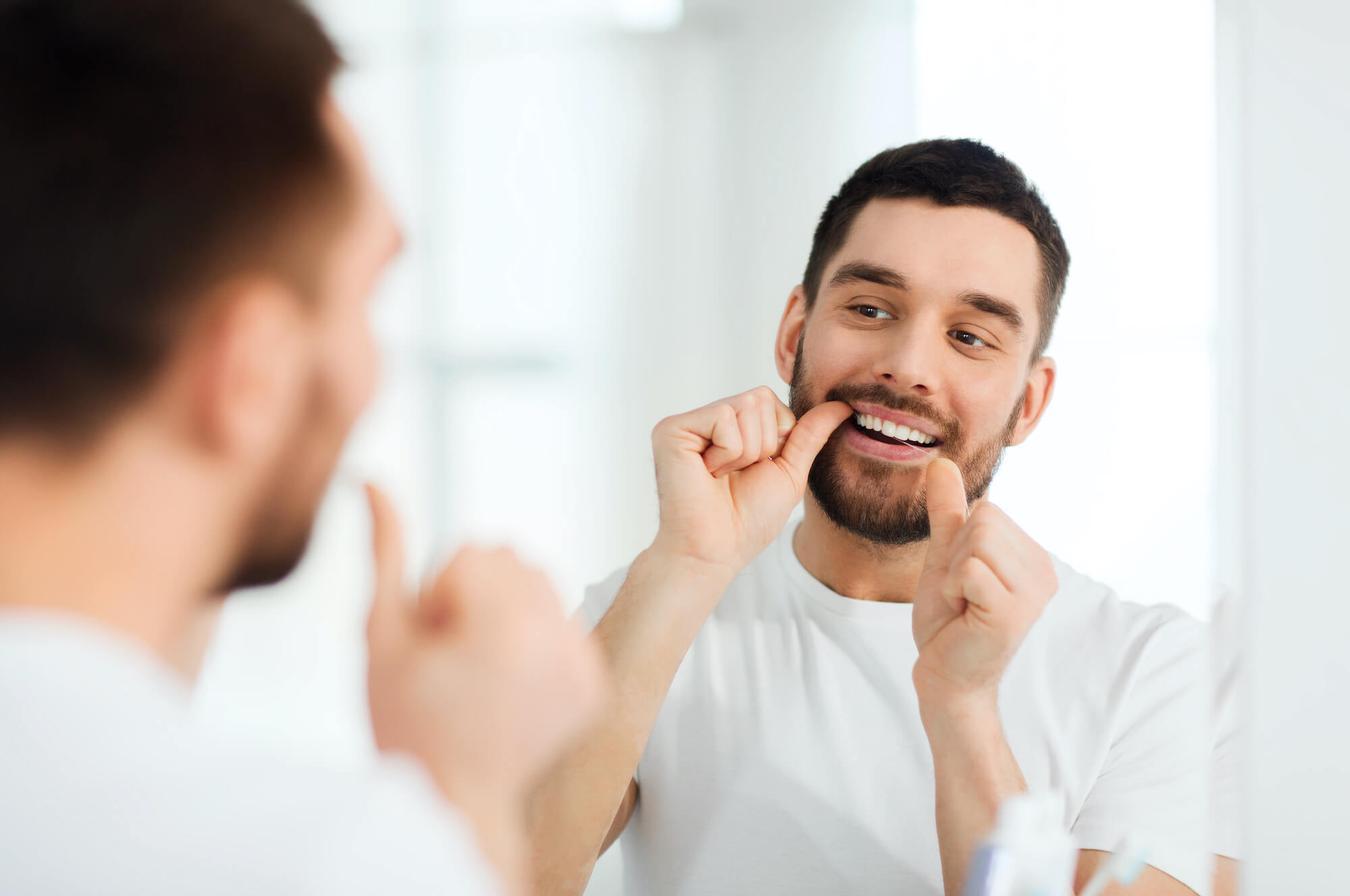 Flossing to Prevent Cavities