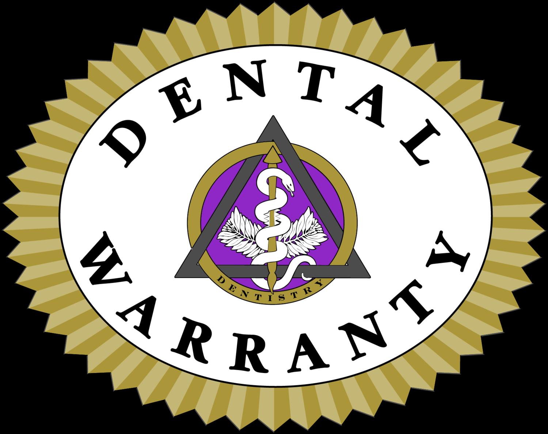 Dental Warranty Emblem from ADA