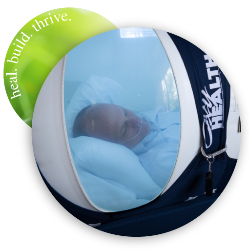 mann in hyperbaric chamber