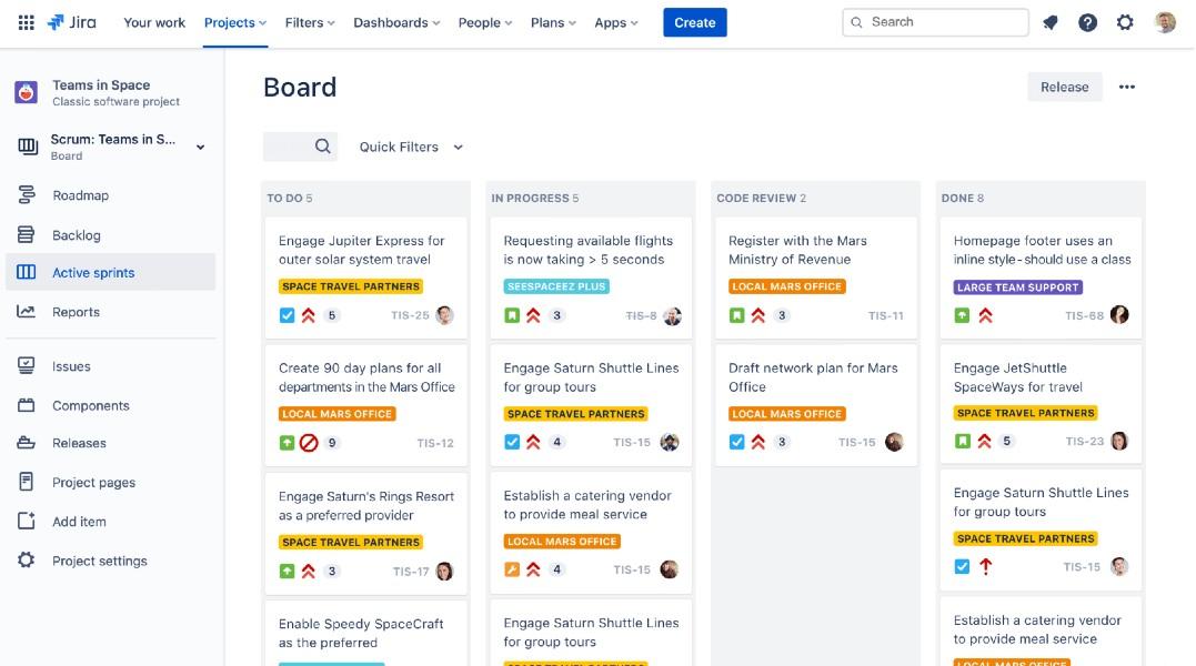 Board Jira Software